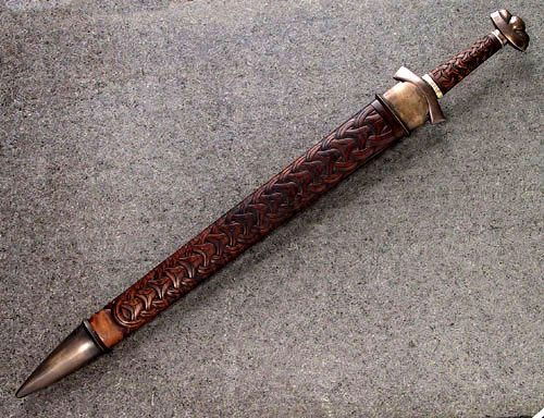 Composite PatternWelded Viking Sword Tutorial Jake Powning Cool Pattern Welded Sword